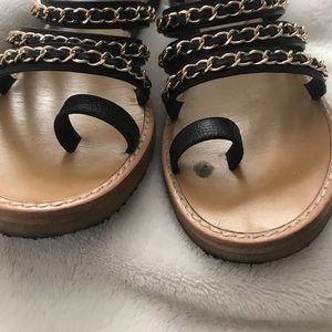 70ec0574103a CHANEL Shoes - AUTHENTIC Chanel Gladiator Sandals